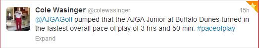 Wassinger, Cole