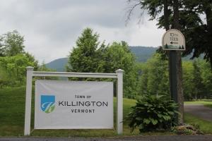 Town of Killington sign (1)