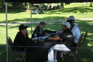 Scoring tent Peggy Giffels (2)